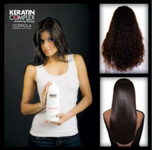 Coppola Keratin Treatment Before and After